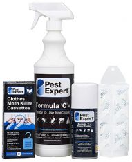 Clothes Moth Killer Kit - Standard (Max Strength Pest Expert Products)